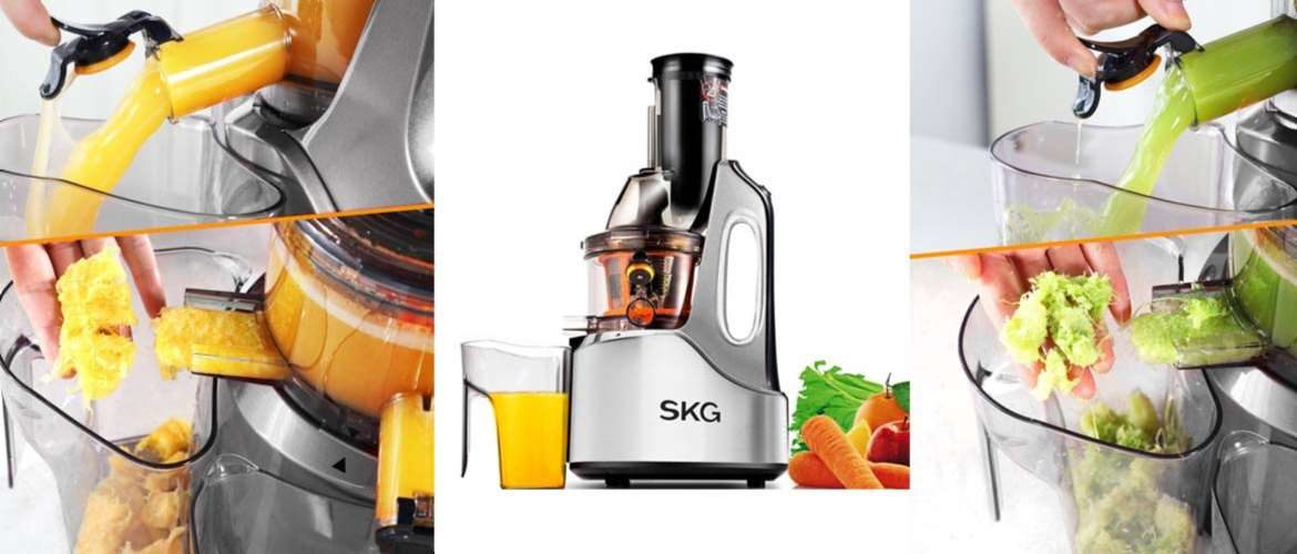 SKG Vertical Masticating Juicers