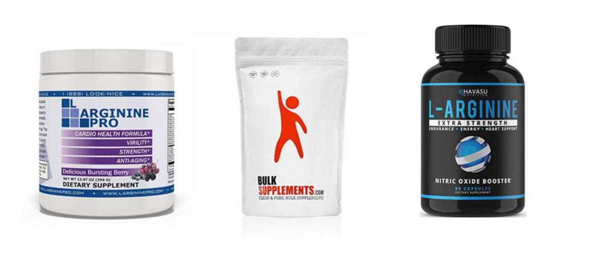 L-Arginine Supplement Top 10 Rankings
